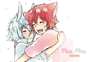milk x miru by milemiru