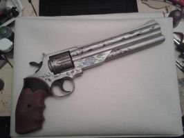 The Blue Rose - Devil May Cry by DriftWood-Props