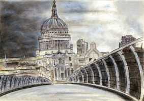 St Paul's Cathedral by Pictaview