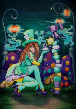 Mad Hatter by HollowPixie