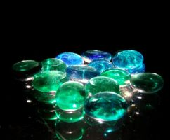 Glass Pebbles by PH0T0WH0RE