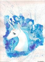 The Last Unicorn by the-elemental-writer