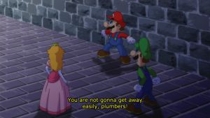 Super Mario Anime Screencap 2 by Agu-Fungus