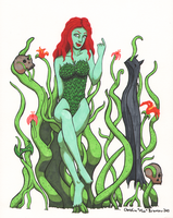 Poison Ivy by StineTheKitty