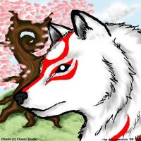 Okami by dreamwolvie