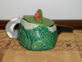 Decorative Nature Inspired Teapot2 by hiddenhearts3