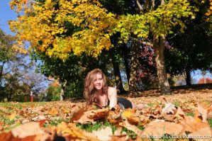 Anne at Cantigny Garden 2 by N1k0nSh00ter