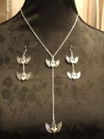 winged hearts by TheLovelyBoutique