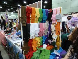 Anime Expo 2012: Kawaii Scarves by bluupanda