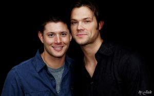 Jensen and Jared huge wall by monkeyJade
