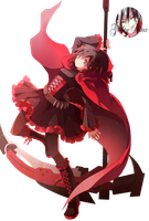 Ruby Rose render by GuiltyArtzs