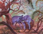 Coconut crab by Biffno