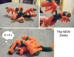 Pipecleaner Zooky Version 2 by zookydragon