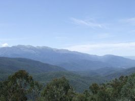 The Blue Mountains by tentsie