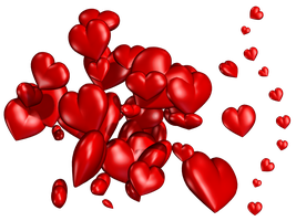 Hearts PNG Stock by Jumpfer-Stock