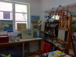 Inside the Artists Studio by HeikoRademacher