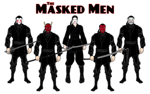 The Masked Men by Eldacur
