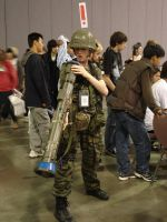 Soldier with AT4 at fanime 08 by otakuukato