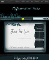 My websites home page by Starlightdrops