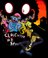 123 Slaughter Me Street Retro Picture by Lavenderdadragon14