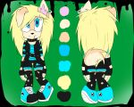 Sonic Scene/Emo Girl Adoptable Bid: Closed by FarFromSerious