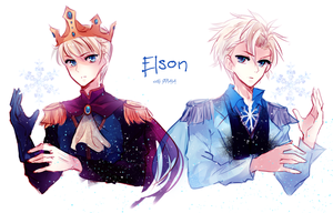 frozen: genderbent elsa by califlair