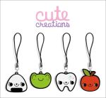 SET 01: Phone Straps by Cute-Creations