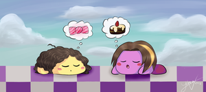 Sleepy Candy Times by Yara-V