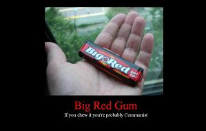 Big Red Gum by JayPrower