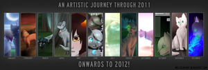 Journey Through 2011 by KylieKattu