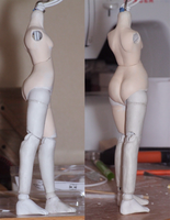 Handmade BJD Violet - Hip Adjustment by daiin