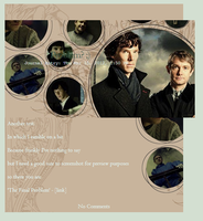 BBC Sherlock Journal Skin by hypnopyro
