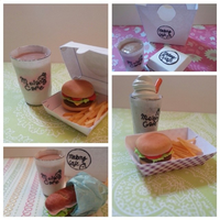 Molang Cafe Fast Food by datcupcakeoverthere