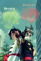 Kai and Ray - Let's fight! by Piratin-Nami