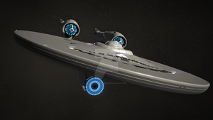 U.S.S.Remnent (Updated Mesh) by Davros-the-2nd
