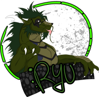 Ryu Badge II by S-Arcano