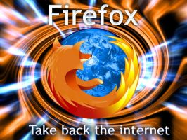 Firefox Wallpaper by KazeNoKiba