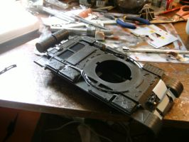 Tamiya 1/35 T-62 Progress report 2.2.2 by DelosQAndrews