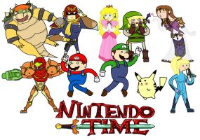 Nintendo time! by thelimeofdoom
