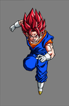 Vegetto SSJ God by hsvhrt