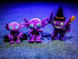 Creepy (cute?) Sableye Plushies
