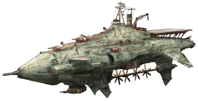 7th Fleet Flagship Battlesniper Yirasie by AoiWaffle0608