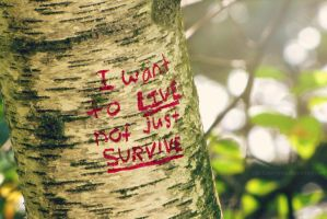 I want to live by BritLawrence