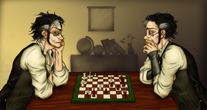 Chess - HINABN collaboration by oingy-boingy