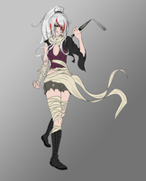 WIP - Shiro the Psychopathic Homicidal Assassin by KernalK