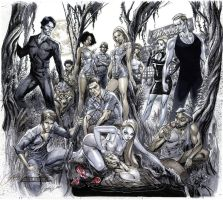 TRUE BLOOD 'Tainted Love' covers 1-6 by J-Scott-Campbell