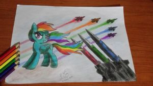 The Rainbow Army by Hoho-There-Lover-Boy