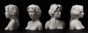 Zbrush 3d print statuette by AlexanderLee1