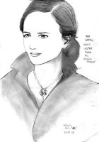 Eva Green as Vesper Lynd by Vladsnake