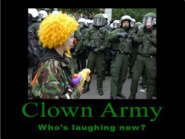 Clown Army by psbox362